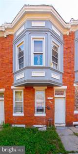 Residential Property for sale in 1721 N LONGWOOD STREET, Baltimore City, MD, 21216