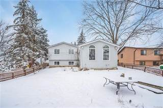 Single Family for sale in 819 WOODINGHAM Avenue, Waterford, MI, 48328