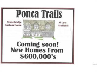 Single Family for sale in 0 TBB Ponca Trail, Kirkwood, MO, 63122