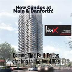 Apartment for sale in 286 Main St, Toronto, Ontario, M4C 4X4