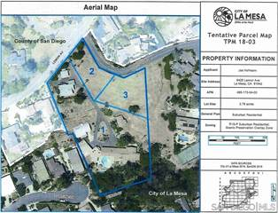 Land for sale in 0003 El Dorado Lane 3, La Mesa, CA, 91941