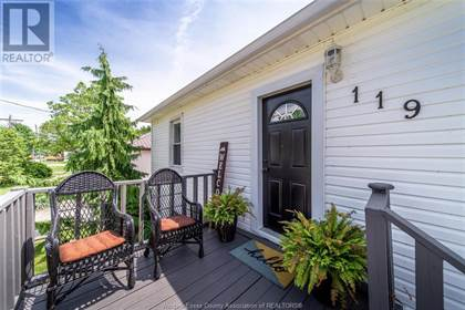 Single Family for sale in 119 VICTORIA, Merlin, Ontario, N0P1W0