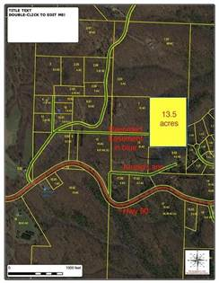 Lots And Land for sale in 201 Arnold  LN, Pineville, MO, 64856