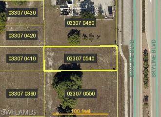 Lots And Land for sale in 3712 Skyline BLVD, Cape Coral, FL, 33914