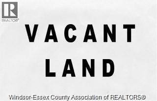 Vacant Land for sale in 1540 SOUTH PACIFIC, Windsor, Ontario, N8X2X2