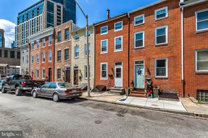 Residential for sale in 312 ALBEMARLE STREET, Baltimore City, MD, 21202