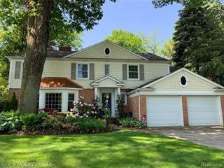 Single Family for sale in 319 TOURAINE Road, Grosse Pointe Farms, MI, 48236