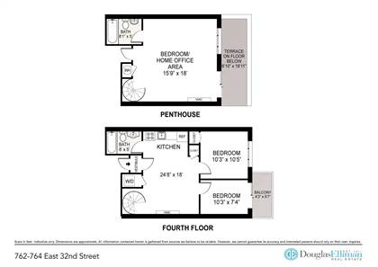 Residential Property for rent in 762 E 32nd St PH2, Brooklyn, NY, 11210