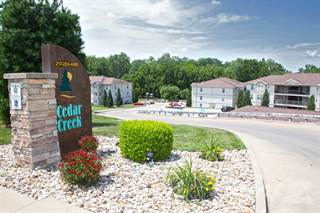 Apartment for rent in Cedar Creek Crossing - Two Bedroom, Quincy, IL, 62305