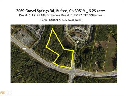 Lots And Land for sale in 3069 Gravel Springs Rd, Buford, GA, 30519