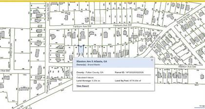 Lots And Land for sale in 4217 BLANTON Avenue, Atlanta, GA, 30331