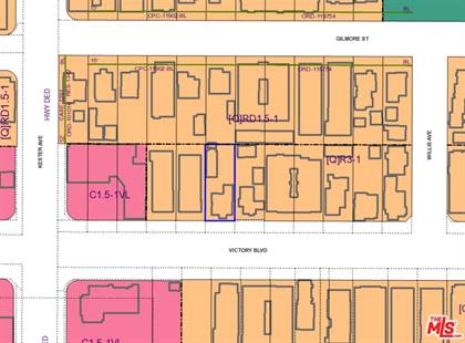 Lots And Land for sale in 14833 Victory Blvd, Van Nuys, CA, 91411