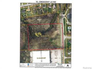 Land for sale in 1701 Crescent Lake Road, Waterford, MI, 48327