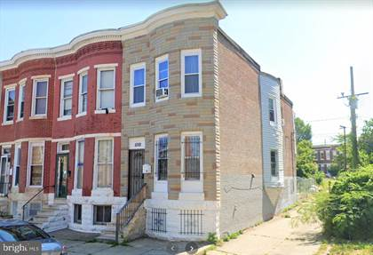 Residential Property for rent in 1001 APPLETON STREET, Baltimore City, MD, 21217