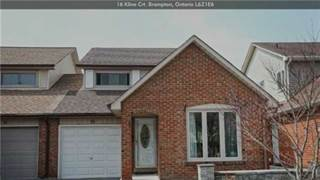 Residential Property for sale in 16 Kline Crt, Brampton, Ontario