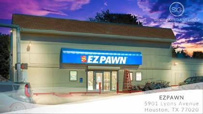 Commercial for sale in EZPAWN Triple Net (NNN) Lease 5901 Lyons Avenue, Houston, TX Cap Rate 6%, Houston, TX, 77020