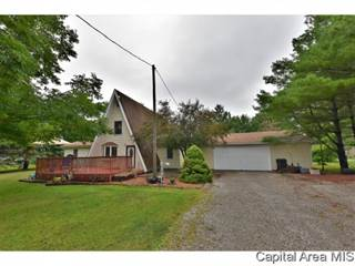 Single Family for sale in 6897 N Cantrall Creek Rd, Greater Sherman, IL, 62625