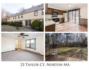 Townhouse for sale in 23 Taylor Court 23, Greater Norton Center, MA, 02766