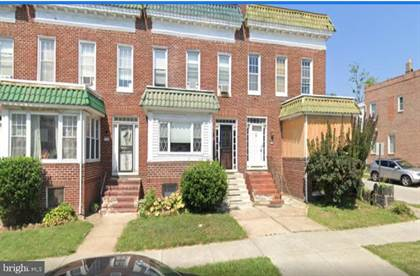 Residential for sale in 3306 ELLERSLIE AVENUE, Baltimore City, MD, 21218