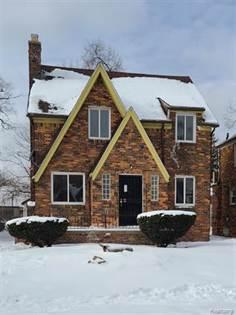 Residential Property for rent in 17395 BIRWOOD Street, Detroit, MI, 48221