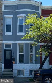 Residential Property for sale in 1835 W MULBERRY STREET, Baltimore City, MD, 21223