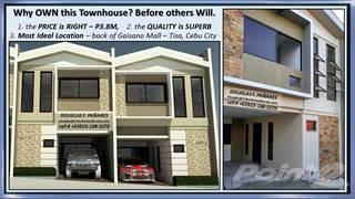 Residential Property for sale in Townhouse for sale Tisa Cebu City back Gaisano Mall, Cebu City, Cebu