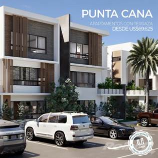 Residential Property for sale in Punta Cana Apartments With Terrace 1 & 2 Bedrooms, Punta Cana, La Altagracia