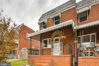Townhouse for sale in 7824 WYNBROOK ROAD, Dundalk, MD, 21224