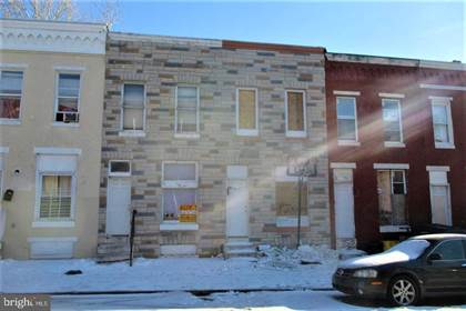 Residential Property for sale in 2009 HOLLINS ST, Baltimore City, MD, 21223