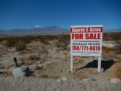 Lots And Land for sale in 0 Penny, Sky Valley, CA, 92241
