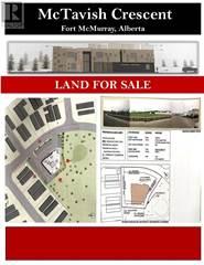 Land for sale in 0000 McTavish Crescent, Fort McMurray, Alberta, T9K2N9