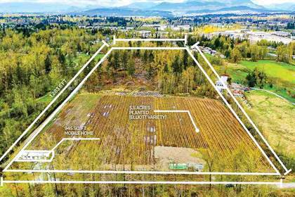 Agriculture for sale in 26869 48 AVENUE, Langley Township, British Columbia