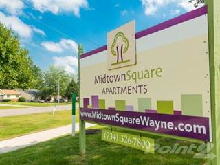 Apartment for rent in Midtown Square Apartments, Wayne, MI, 48184