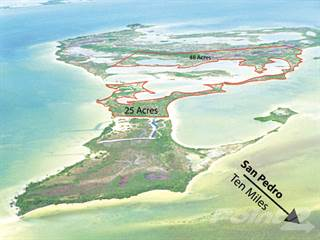 Other Real Estate for sale in  48 acre beach parcel 1 mile from Ambergris Caye, Ambergris Caye, Belize