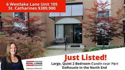 Residential Property for sale in 6 Westlake Lane Unit 105, St. Catharines, Ontario