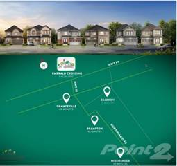 Residential Property for sale in New Towns & Detached Homes Emerald Crossing VIP Access, Shelburne, Ontario, L0N1S8