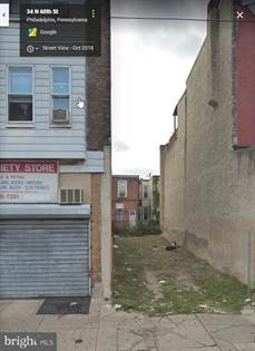 Lots And Land for sale in 36 N 60TH STREET, Philadelphia, PA, 19139