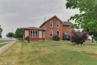 Single Family for sale in 13321 North 2900 East Road, Ellsworth, IL, 61737