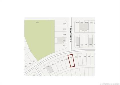 Lots And Land for sale in 672 Sixmile Crescent S, Lethbridge, Alberta, T1K 6Z9