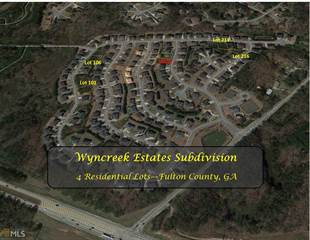 Land for sale in 0 Boreal Way 4 lots, Atlanta, GA, 30331