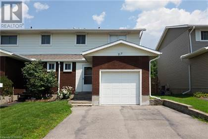 Single Family for sale in 217 VERONICA Drive, Kitchener, Ontario, N2A2R8
