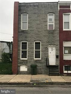 Residential Property for sale in 504 S PULASKI STREET, Baltimore City, MD, 21223