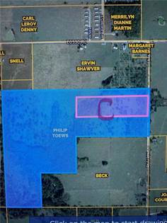 "Lots And Land for sale in TBD ""C"" N4670  RD, Colcord, OK, 74338"