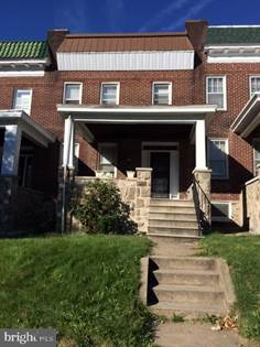 Residential Property for rent in 1314 N BENTALOU STREET, Baltimore City, MD, 21216