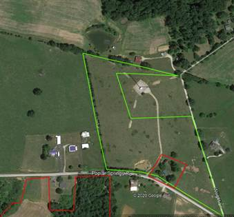 Lots And Land for sale in 1389 Poplar Springs Rd, Brownsville, KY, 42210