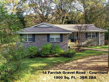 Residential Property for sale in 14 Farrish Gravel Road, Courtland, MS, 38606
