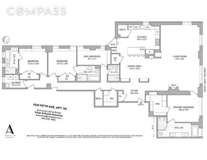 Residential Property for sale in 1035 Fifth Avenue 9-A, Manhattan, NY, 10028