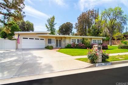 Residential Property for sale in 4470 Azalia Drive, Tarzana, CA, 91356