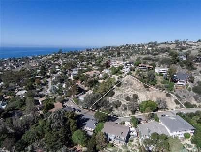 Lots And Land for sale in 1428 Regatta Road, Laguna Beach, CA, 92651