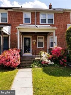 Residential for sale in 1253 CEDARCRAFT ROAD, Baltimore City, MD, 21239